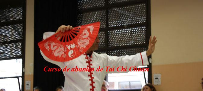 Forma de abanico de Tai Chi Chuan estilo Yang