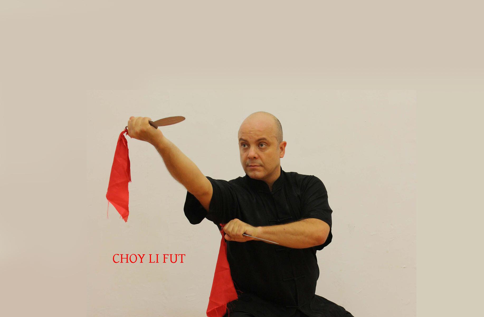 Azul en Choy Li Fut